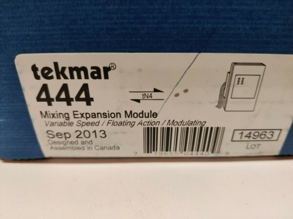 NEW Tekmar 444 Mixing Expansion Module tN4 Compatible Variable Speed $249.75