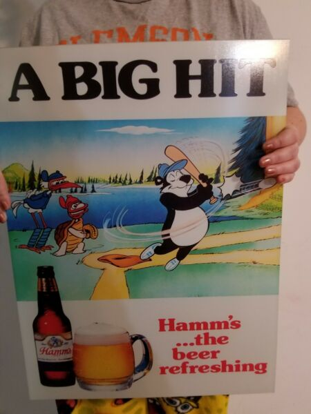 Hamms Beer Vintage style Beer Sign
