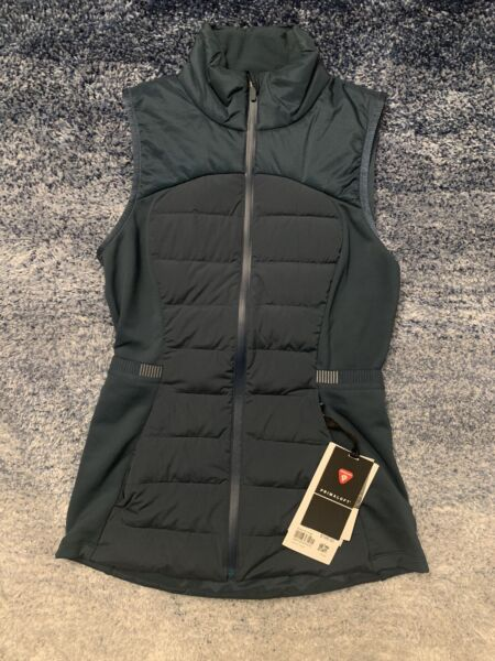 NWT Size 4 Lululemon Down For It All Vest Submarine $116.95