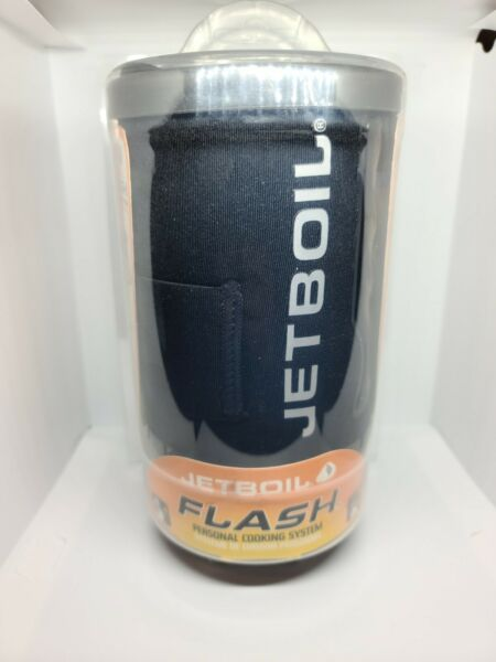 Jetboil Flash Camping Backpacking Stove Cooking System Carbon WITH BOX