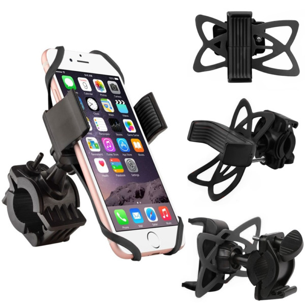 Bicycle Motorcycle MTB Bike Handlebar Mount Holder For iPhone Cell Phone GPS $5.99