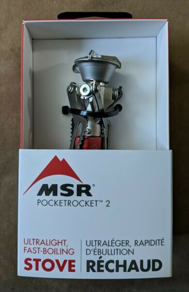 MSR PocketRocket 2 Ultra Lightweight Fast Boiling Small Portable Camping Stove