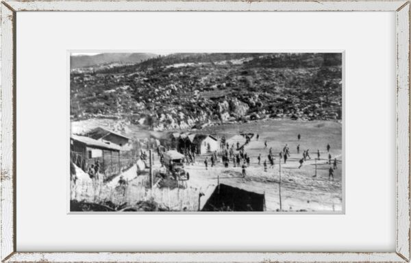 Photo: American Red Cross mountain post Italian Front ARC 1914 1918 WWI $14.99