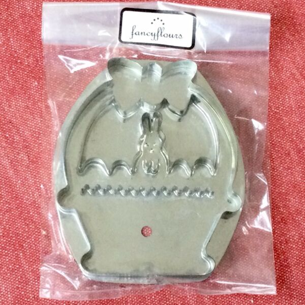 RARE RTD Bunny Basket Easter Egg Rabbit Spring B Cukla Hammer Song Cookie Cutter
