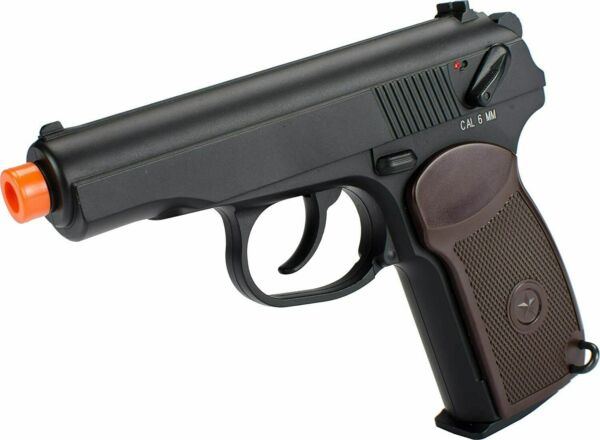 KWC CO2 gas Russian Makarov PM full metal Non Blowback airsoft pistol ww2