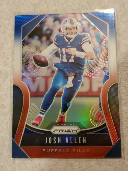2019 Panini Prizm Josh Allen #3 RWB Red White Blue Holo 2nd Year Buffalo Bills $30.00