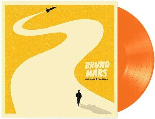 Bruno Mars Doo Wops amp; Hooligans New Vinyl LP Colored Vinyl Orange