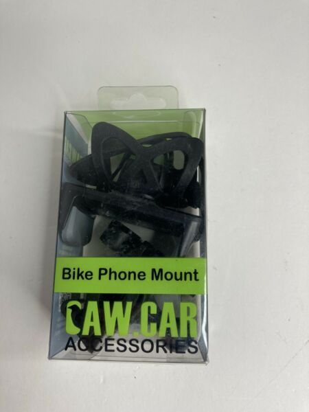 Caw Car Bike amp; Motorcycle Cell Phone Mount for Any Smartphone GPS Universal $13.95
