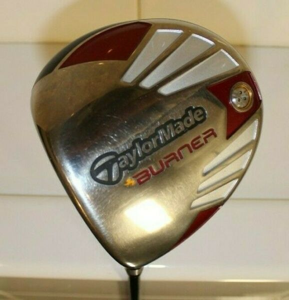 TaylorMade Burner Driver 9.5° REAX 50 R Flex Mens LH Left Very Good Condition
