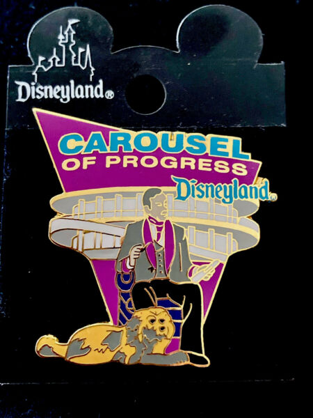 Disney Carousel Of Progress with Narrator Rover Vintage 1998 Pin