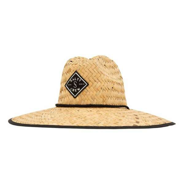 Salty Crew quot;Tippet Cover Upquot; Straw Hat Camo Outdoor Sun Fishing Cap