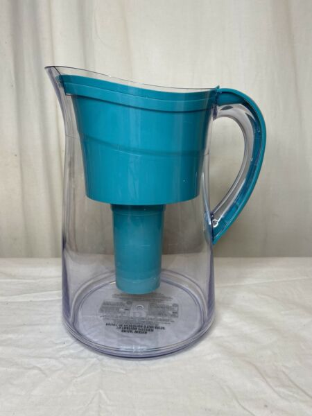 Brita Water Pitcher Teal Model Number OB48 OB03 10 Cup Pre Owned No Filter