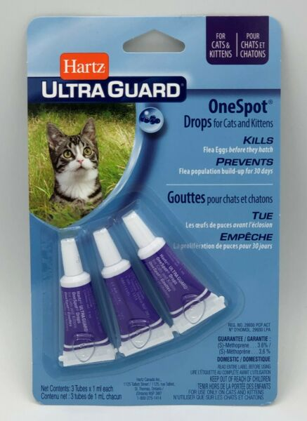 Hartz UltraGuard One Spot Flea Treatment For Cats amp; Kittens $9.23