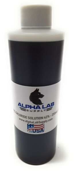Ferric Chloride Solution 42% 250ML 8oz PCB Etchant