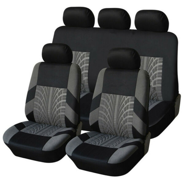 Front Rear Car Seat Covers 9PCS Protector Cover for Nissan Rogue Sentra Kicks $29.88