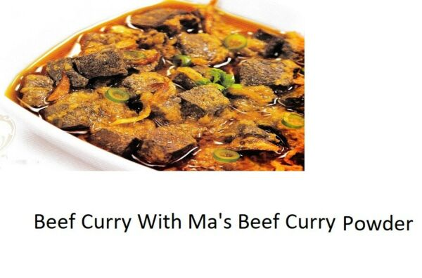 Sri Lankan 100% Natural MA#x27;S Beef Hot Curry Spices Powder $9.97