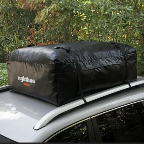 Rightline Gear Ace 2 Weatherproof Car Top Roof Carrier 15 Cu Ft 100A20 Brand New $69.99