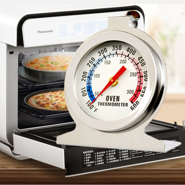 Steel High Temperature Thermometer Oven Stainless 300ºC Gauge Cooker Quality