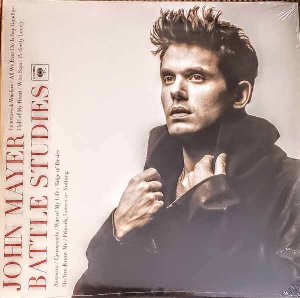 JOHN MAYER BATTLE STUDIES 2 LP SET quot; NEW SEALED quot; IMPORT