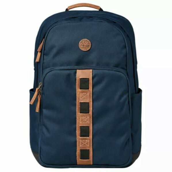Timberland New Originals 27 Liter Water Resistant Backpack Blue Brown TB0A1CZV $49.99