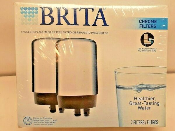 Brita On Tap Faucet Water Filter Replacements Chrome Filters FR 200 Sealed