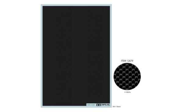 Tamiya 12679 Carbon Pattern Decal Plain Weave Fine For 1 12 1 24 Scale Model Car $6.90