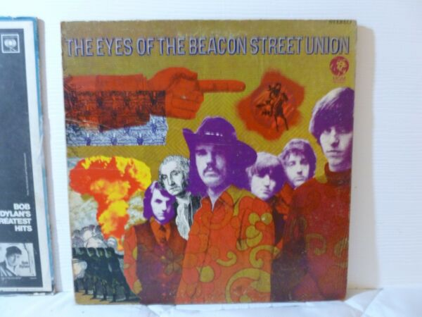 THE EYES OF THE BEACON STREET UNION 33 RPM LP