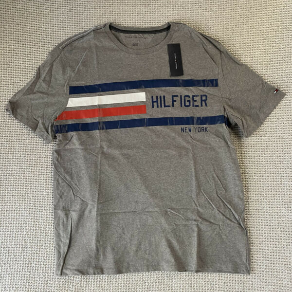 Tommy Hilfiger Mens Short Sleeve New York Graphic T Shirt Size XXL NEW NWT $15.98