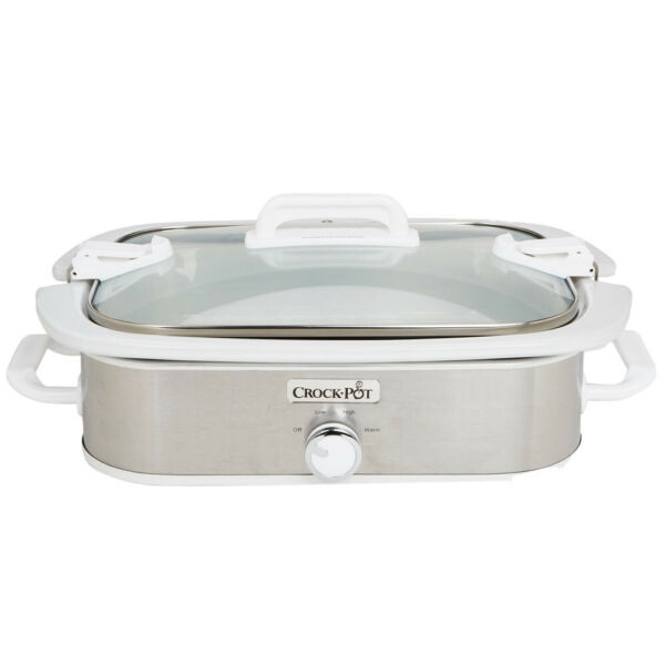 Crock Pot 3.5 Quart Casserole Crock Slow Cooker