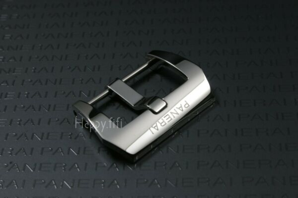 22mm Trapezoidal Polished 316L Stainless Steel Buckle Clasp Officine Pan erai