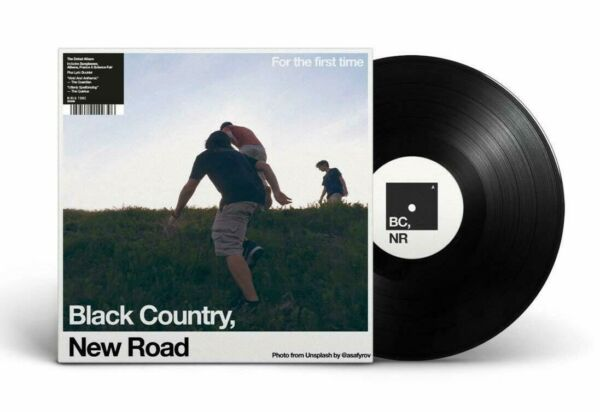 Black Country New Road FOR THE FIRST TIME New Sealed Black Vinyl Record LP $25.99