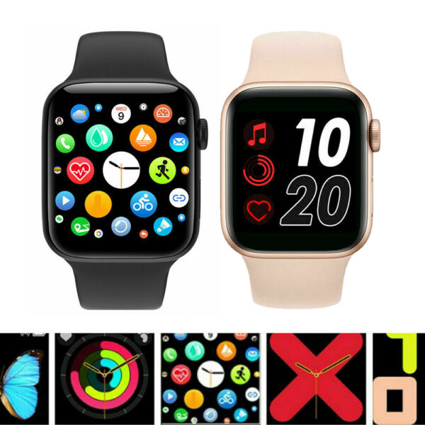 Smart Watch Bluetooth Waterproof For iPhone iOS Android Phone Fitness Tracker $21.99