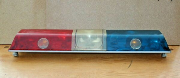 Code 3 Police Lights LP 6000 Public Safety Equipment SAE W3 83 Force 4 Red Blue