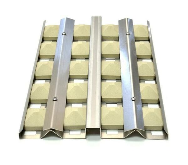 Delta Heat Gas Grill Stainless Briquette Tray w Briquettes 32quot; Grill S23218 32Y