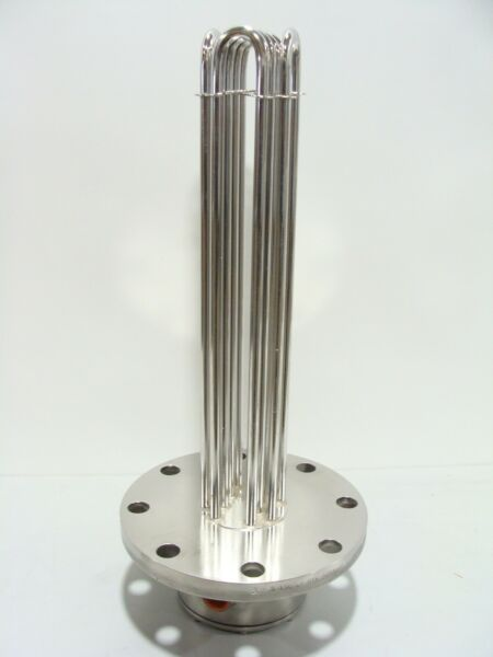 New Viraj Stainless Steel 12kW 480v 3Ph 10quot; Flanged 18quot; Immersion Heater Element $899.99