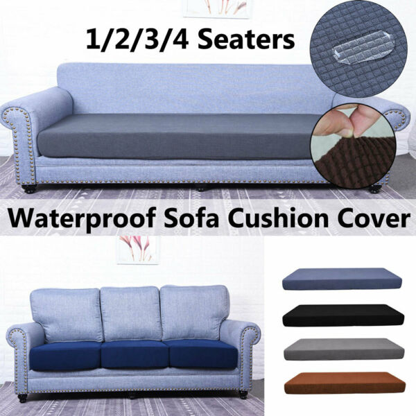 1 4 Seat Sofa Cover Couch Slipcover Stretchy Cushion Pet Dog Furniture Protector $21.69
