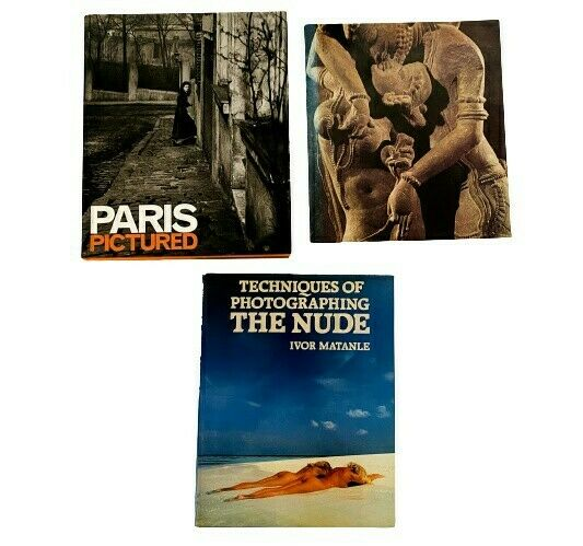 Coffee Table Books: Paris Pictured Photographing the Nude Sensuous Immortals