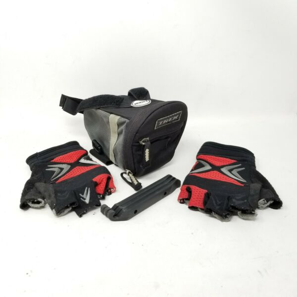 Trek Saddle Seat Bag Specialized XC gloves Women#x27;s Sz Small PROPATCH Tire Tools $24.99