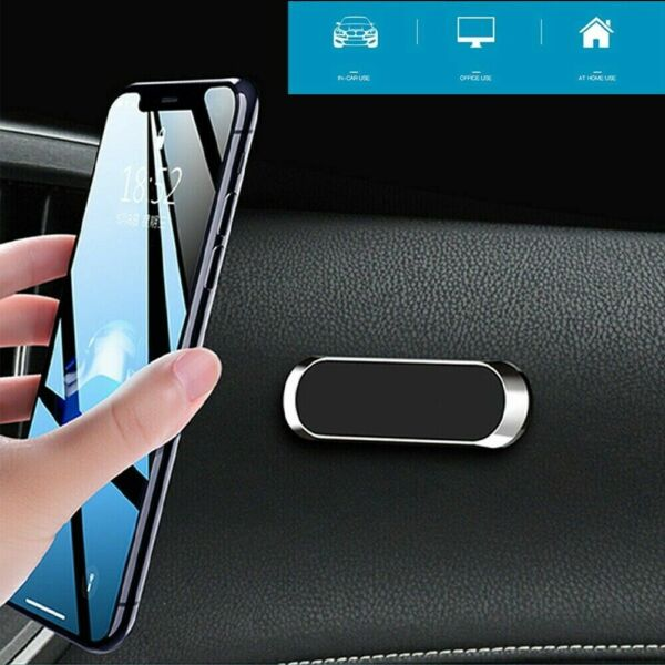 Magnetic Universal Car Mount Holder For Cell Phone Samsung Galaxy For iPhone LG $5.39