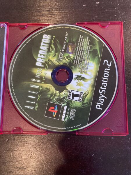 Aliens vs. Predator Extinction Sony PlayStation 2 PS2 Disc Only TESTED NICE