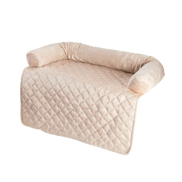 PETMAKER Furniture Protector Pet Cover with Bolster Beige 35 x 35 35quot; X 35quot; $50.50
