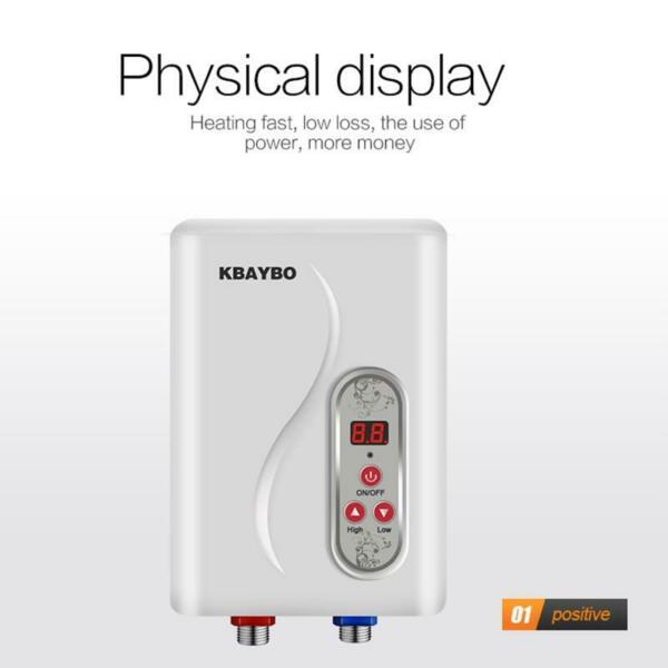 Instant Electric Water Heater Tankless Instantaneous Water Heating 7000w $132.46