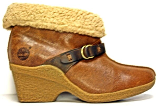 Timberland Womens Boots sz 9.5 M Earthkeepers Brown Leather Winter MO20 $32.00