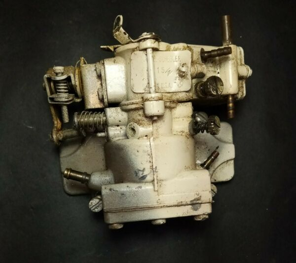 ELGIN Sears Outboard 7.5hp Outboard Carburetor amp; Fuel Pump 1963 574.60090 $34.95