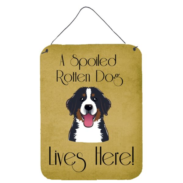 quot;Caroline#x27;s Treasures BB1485DS1216 Bernese Mountain Dog Spoiled Dog Lives Her... $23.05
