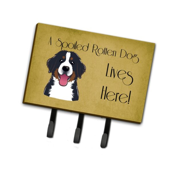 quot;Caroline#x27;s Treasures BB1485TH68 Bernese Mountain Dog Spoiled Dog Lives Here ... $29.57