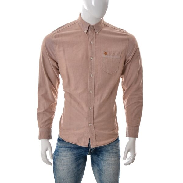 Timberland FOR Men Regular Fit Oxford Shirt Button Down Top Long Sleeve size M $26.03