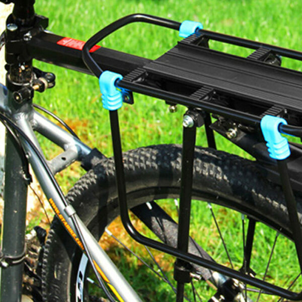 New Rear Bicycle Rack Cargo Rack Bike Quick Release Mount Alloy Carrier $20.89