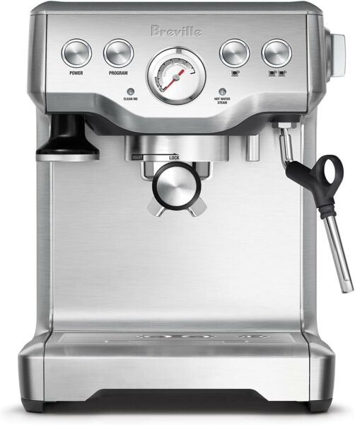 New Breville The Infuser Espresso Machine 100 Stainless Steel