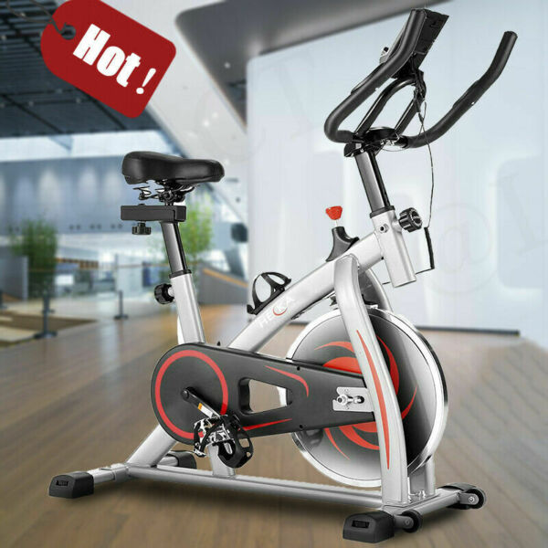 HEKA Stationary Exercise Bicycle Indoor Bike Cardio Home Gym Cycling Fitness amp; $229.99